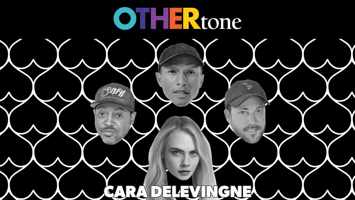 New @OTHERtone episode with our friend @Caradelevingne 💎