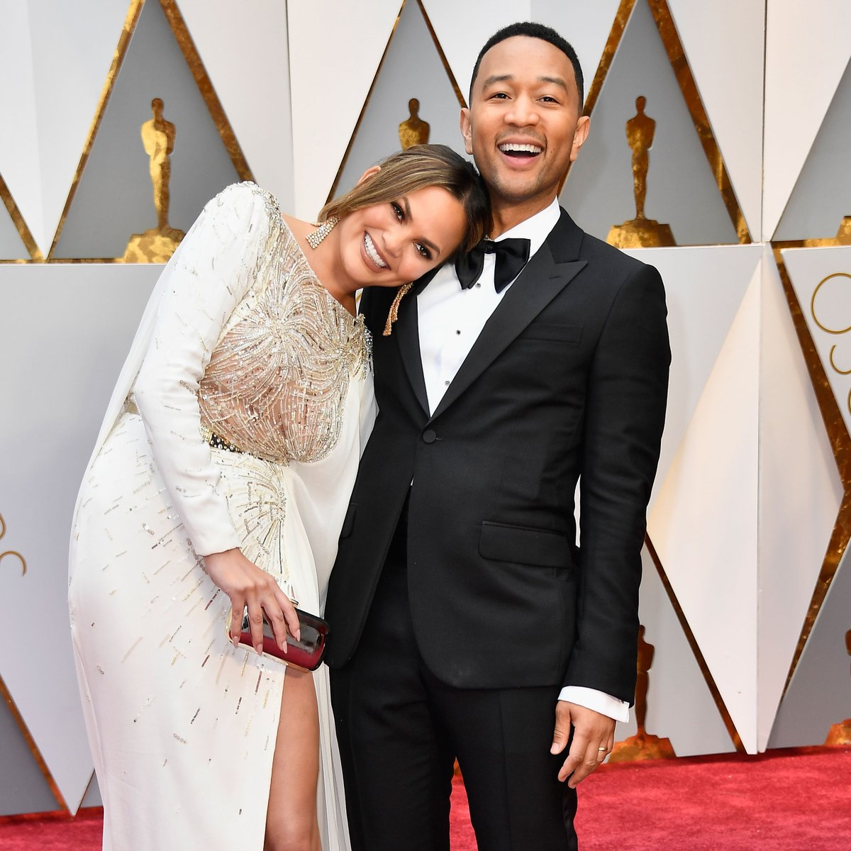 This video should really be called @johnlegend AND @chrissyteigen's red carpet evolution 👫