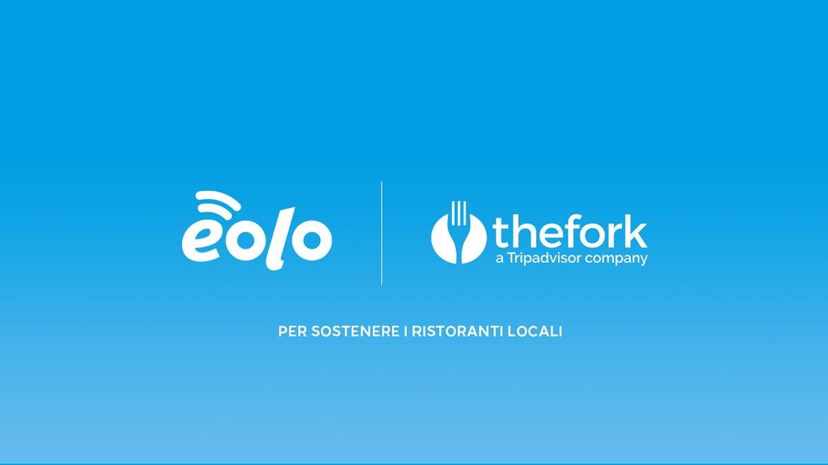 Per supportare i ristoratori, categoria fortemente colpita dalla pandemia, abbiamo deciso di collaborare con @TheFork e donare ad ogni nuovo cliente 50€ da utilizzare sulla piattaforma. https://t.co/a2p40OnGtY https://t.co/mndbjb3EBZ