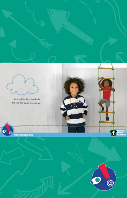 Join us and students from our Charter School as we read along to #IAmEnough by @LadyGraceByers https://t.co/g6d8PhyPcn   Mini Monday story times are sponsored by @FloridaMilk https://t.co/OAboSpIRS5