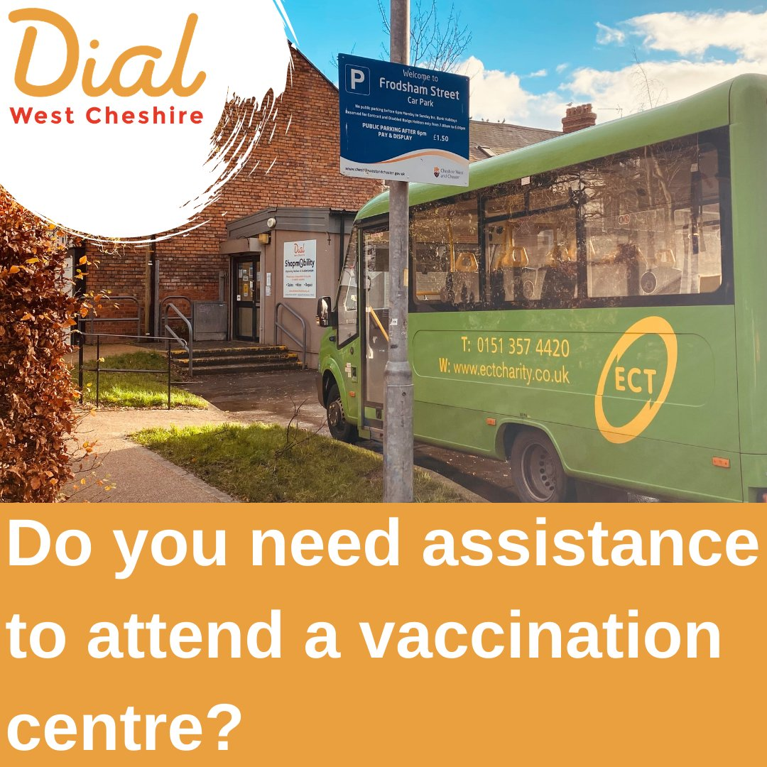 Do you need assistance to attend a vaccination centre? Whether you usually qualify for use of the Plus Bus service, or not, they are more than happy to take you to and from your vaccination centre. Call 0151 357 4420 to book your ride @chestertweetsuk @ChesterBID @chestertweetsuk