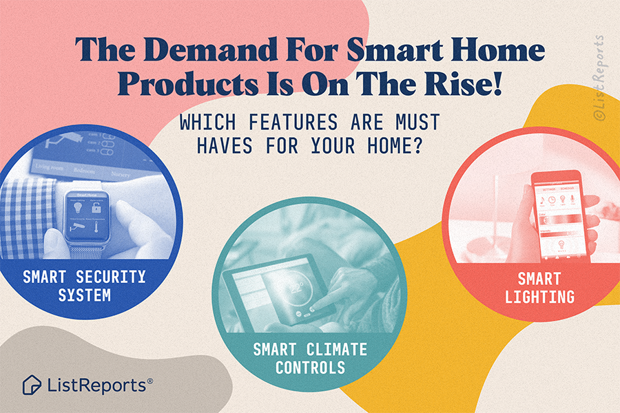 Are we thinking big enough? What about smart pets or smart food? What smart features are you looking for in a new home? #thehelpfulagent #smarthome #houseexpert #home #house #remax #ineverquit #smartproducts #homeowner #realestate #realestateagent #smart