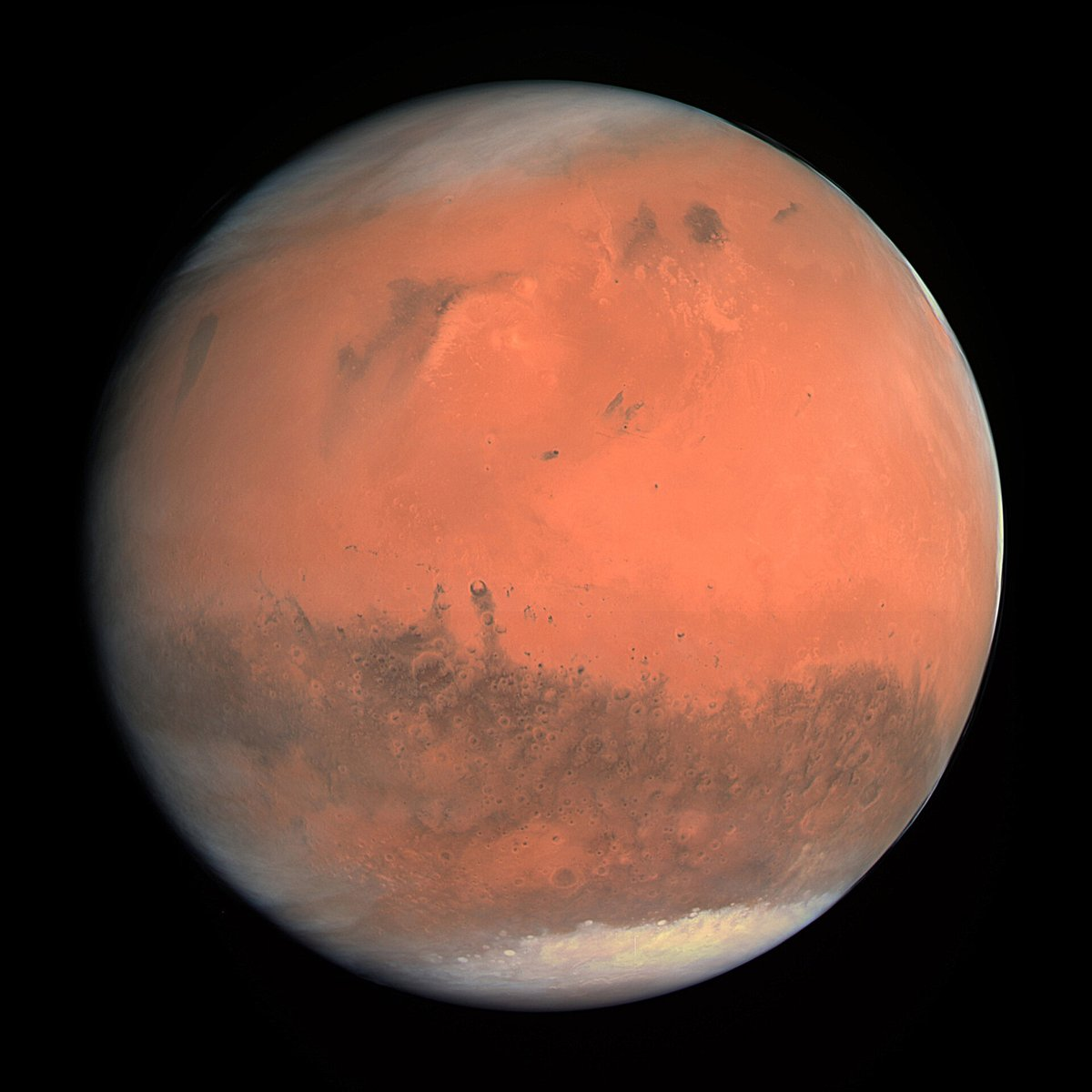 test Twitter Media - It's a busy month over at our planetary neighbour Mars.  Three missions headed there have or will enter orbit this month. Why so many at one time? They were timed to launch when the distance between the Earth and Mars was relatively short. (1/5) https://t.co/ak6K916M1J