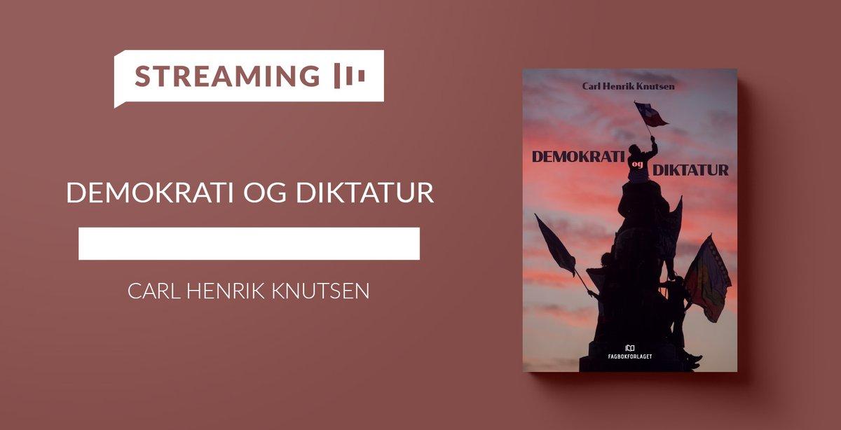 """Hva er egentlig et demokrati, og hvordan kan vi undervise i det? @carlhknutsen presenterer den nye boka """"Demokrati og diktatur"""" og utvalgte funn fra demokratiforskningen. Gratis webinar på torsdag. Meld deg på her: https://t.co/33WRXyaHRi https://t.co/AEyowbY94V"""