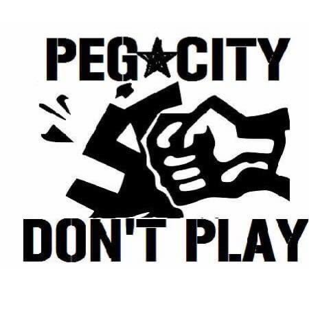 Today is the 4th anniversary of FF1 we'd like to thank all those that jumped in whenever we've had an action. Because of you the last 4 years has proved this community will not take racist gangs lightly and we will confront and reject them at every turn. #pegcitydontplay