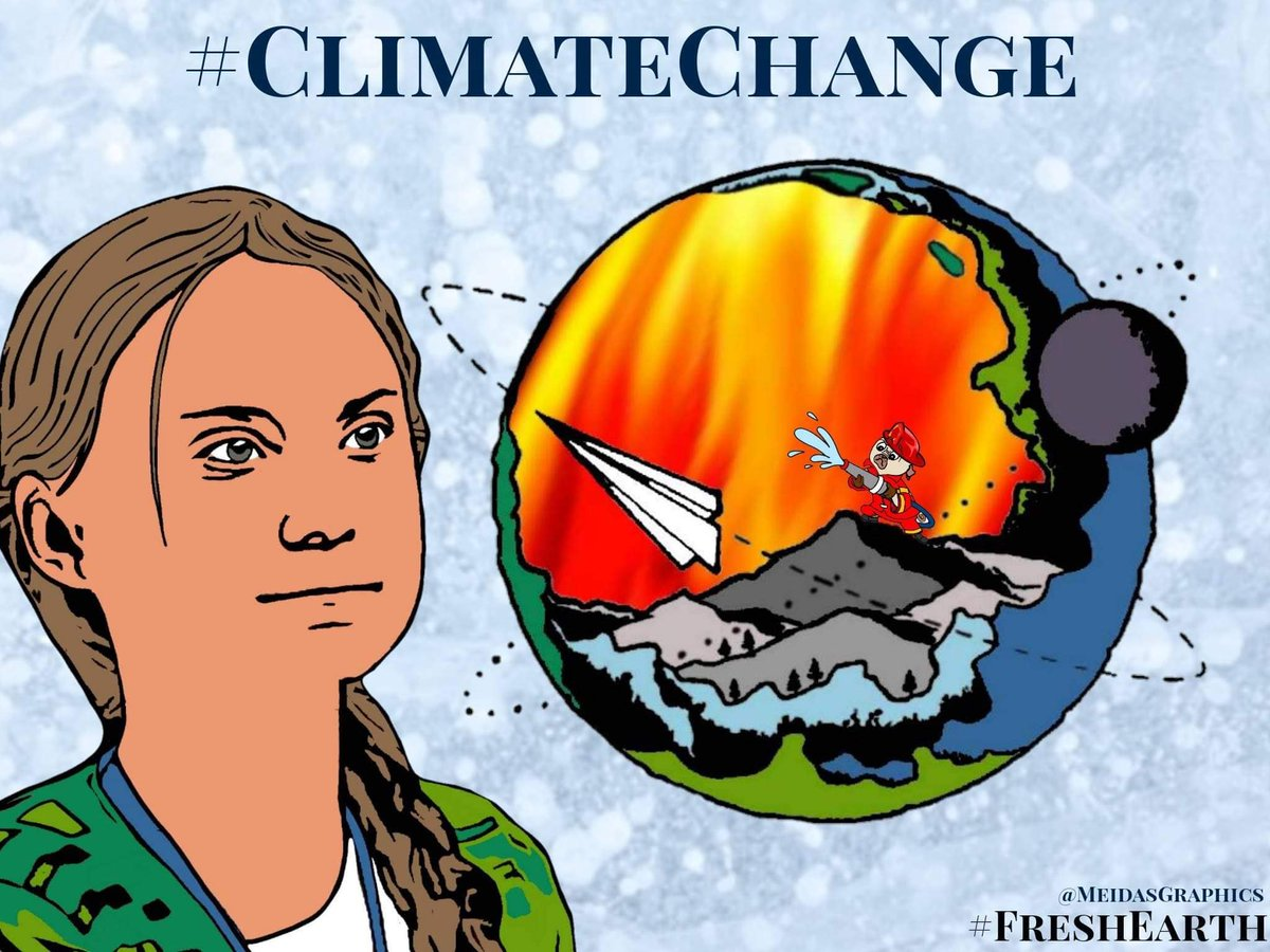 @SenSanders #ClimateEmergency is real! We must step up the game!