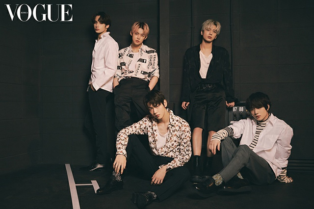 CHOI YEONJUN also will feature along with the Other TXT members in Vogue Korea