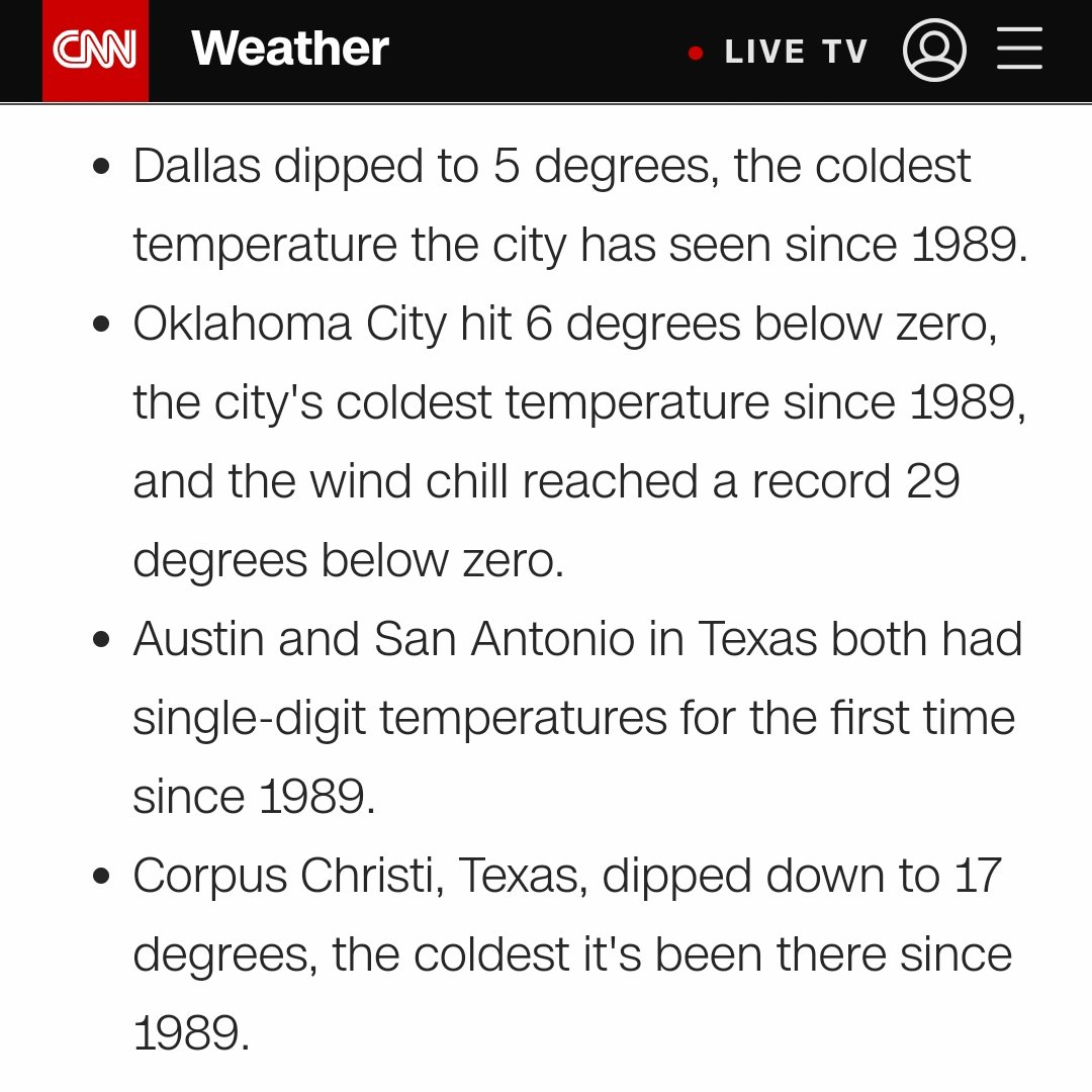 Well... #Snowmageddon2021 in Dallas Fort Worth. Yikes.