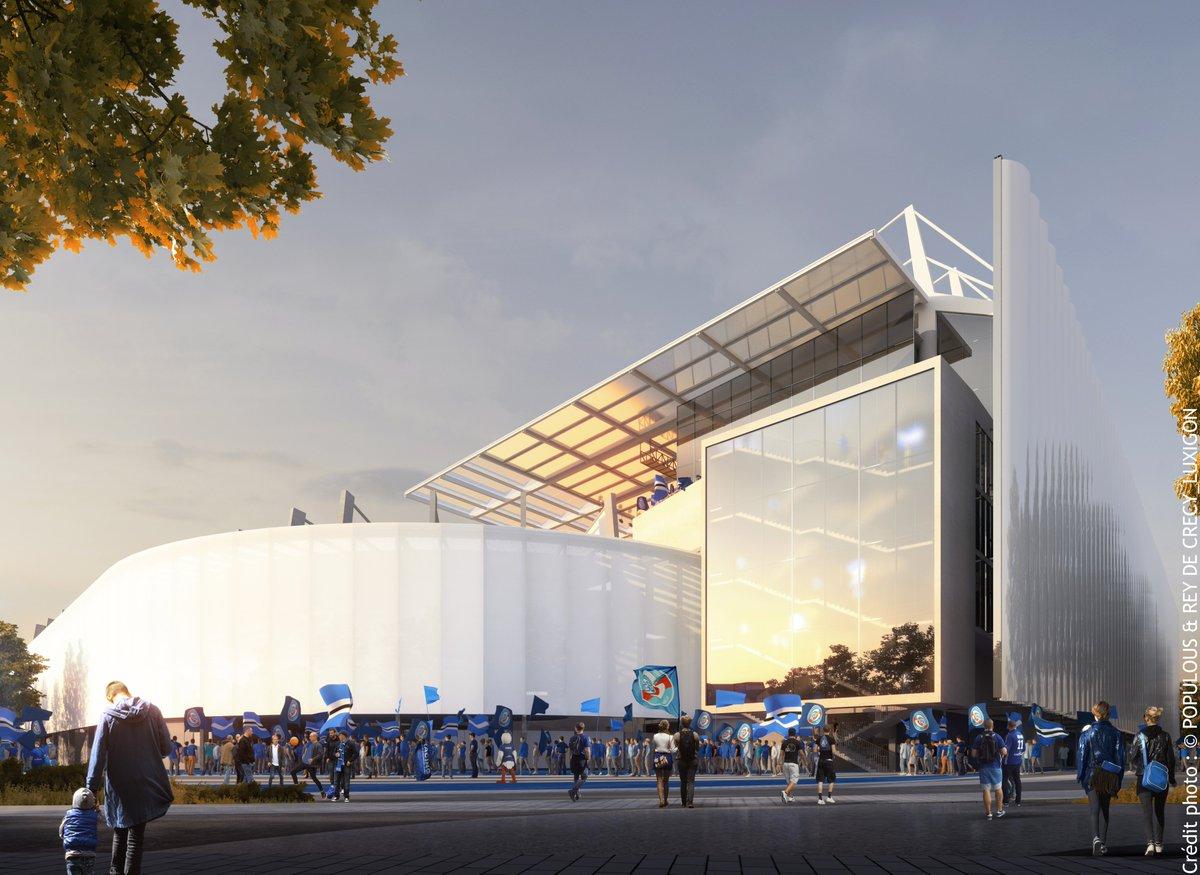#LeSaviezVous ? Un projet de restructuration et d'extension du Stade de la Meinau a été validé ! ⚽️😉 Visite guidée en images >> https://t.co/wYQD3fI7Fb #Alsace #Strasbourg https://t.co/dz18dFpxUJ