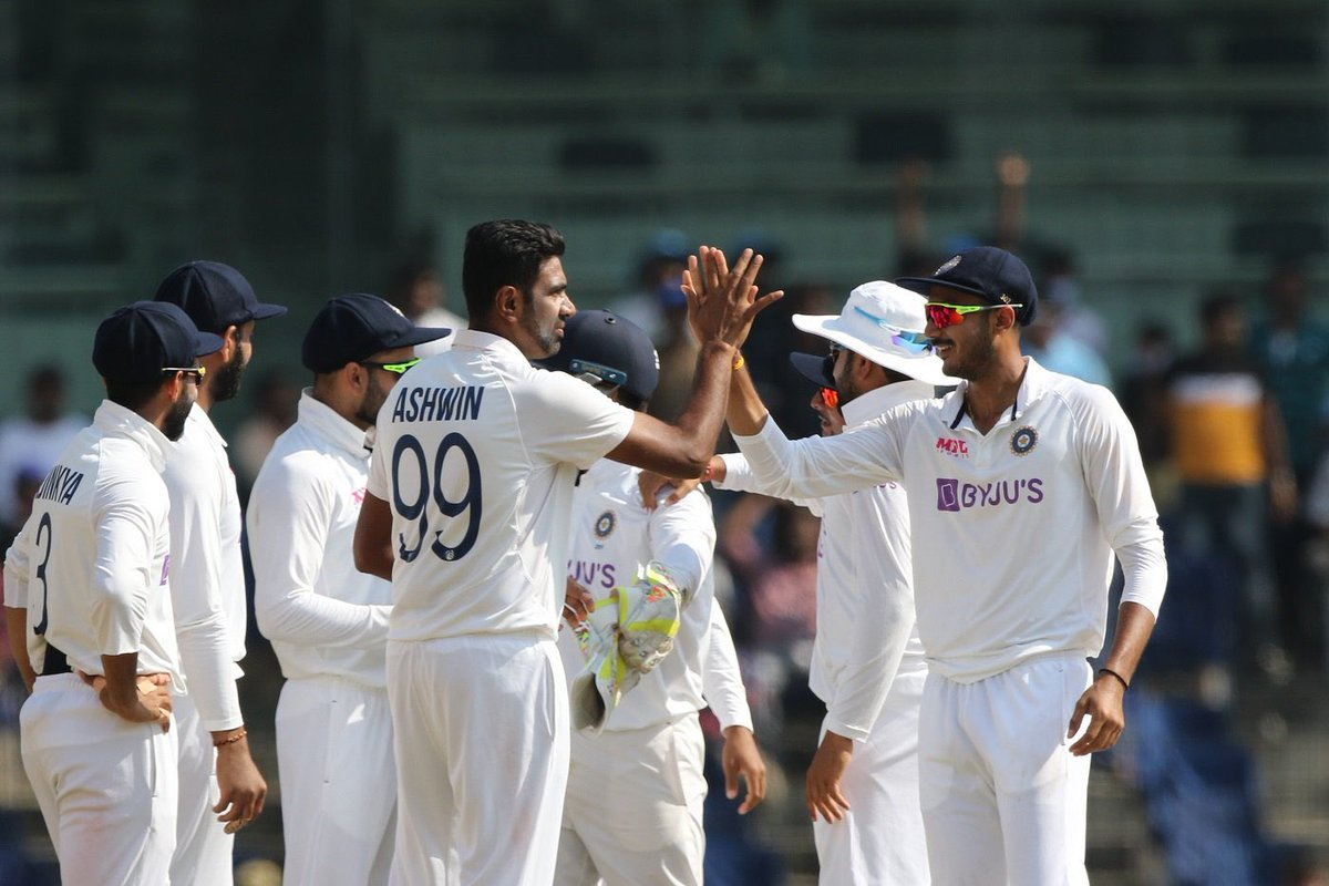 Heartiest Congratulations #TeamIndia for an amazing win at Chepauk. 🇮🇳🏏 Incredible performance, very well deserved boys. 🙌 #INDvENG @BCCI