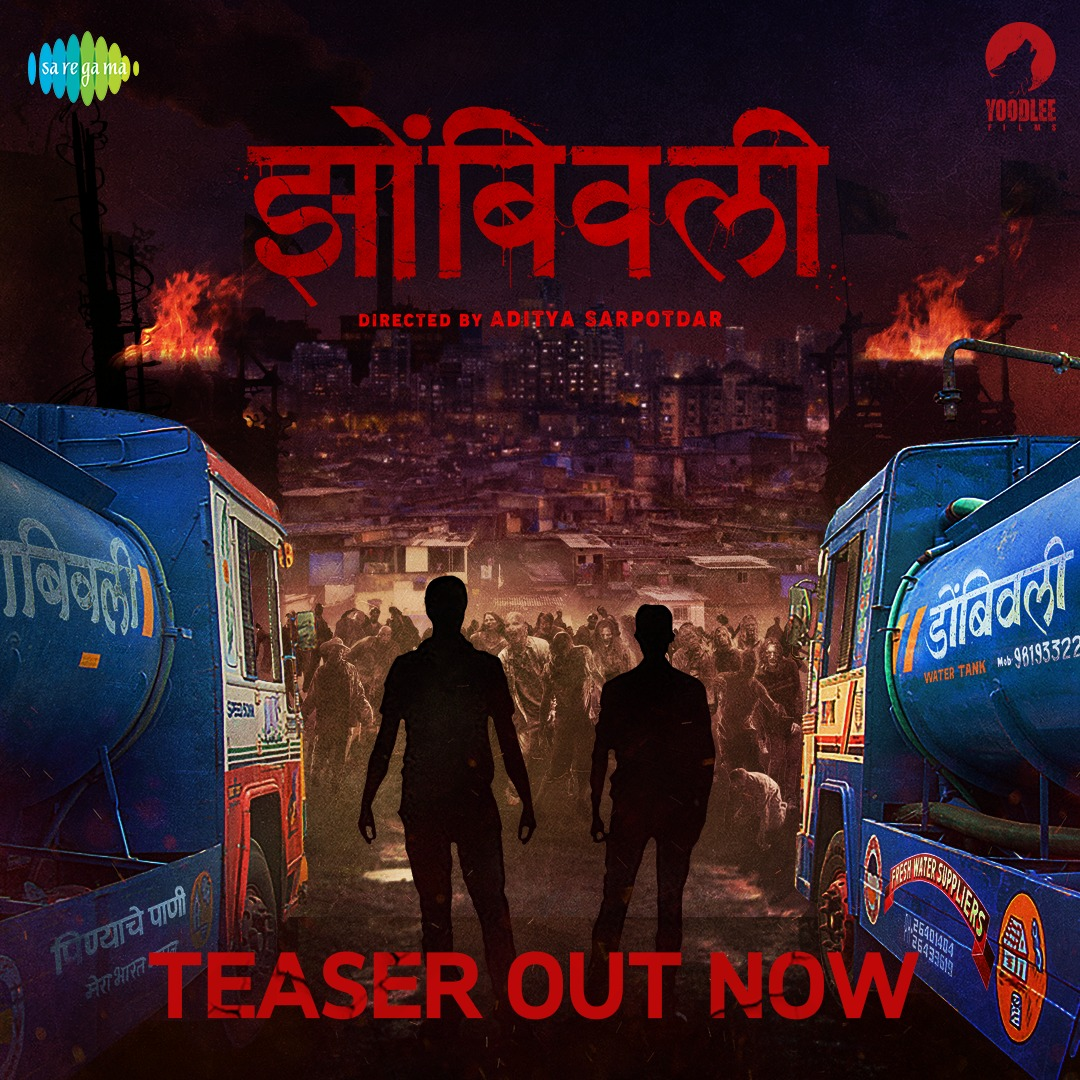 Marathi cinema's first horror comedy featuring zombies - #Zombivli releasing in theatres on 30th April. Teaser out now.  #ZombivliTeaser -   @AdityaSarpotdar @ameywaghbola @lalit_prabhakar @vaidehiofficial @YoodleeFilms #झोंबिवली