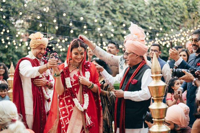 Dia Mirza ties the knot with Vaibhav Rekhi