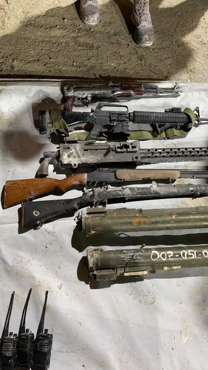 أفيخاي يغرد : استمرار حملات جيش الدفاع لضبط الأسلحة غير القانونية في يهودا والسامرة حيث تم ضبط أسلحة غير شرعية في …