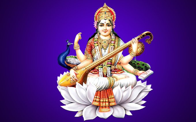 Basant Panchami and Saraswati Puja being celebrated
