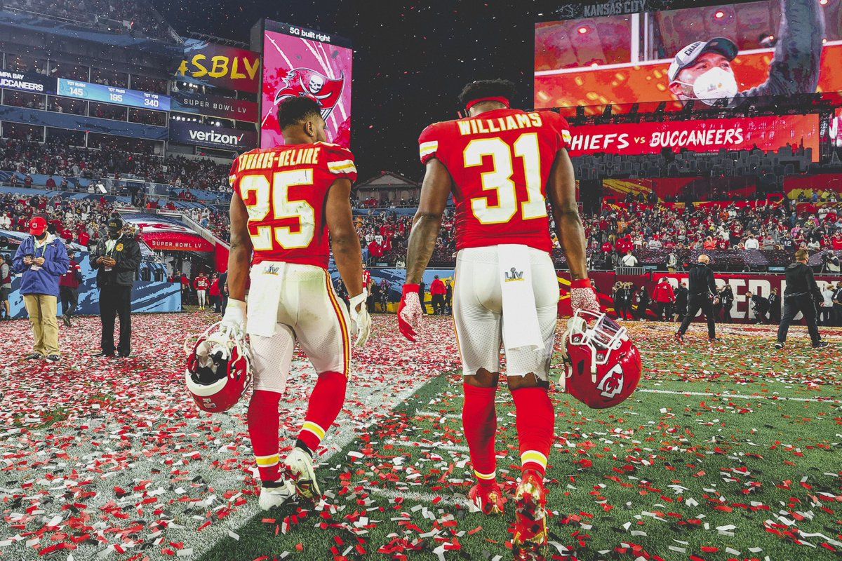 Replying to @Chiefs: The comeback is going to be greater than the setback.