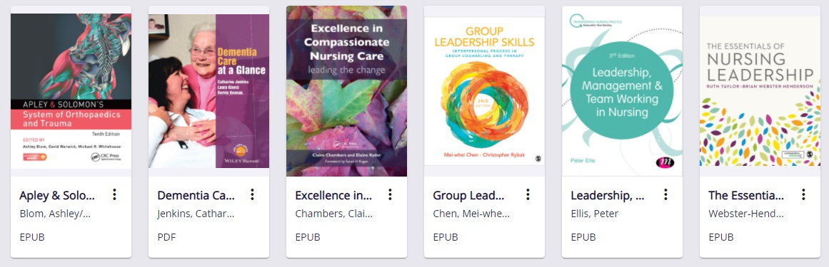 @RJAH_NHS staff and students on placement can access 138 new #ebooks available via @Kortext at https://t.co/4aDwSH389W   To sign in  👉select your institution Robert Jones & Agnes Hunt Orthopaedic Hospital 👉log in with your #OpenAthens account 👉click on 'Collections' to browse https://t.co/4OaCURtLDR