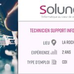 Image for the Tweet beginning: [ SOLUNEO RECHERCHE 📢]  L' informatique