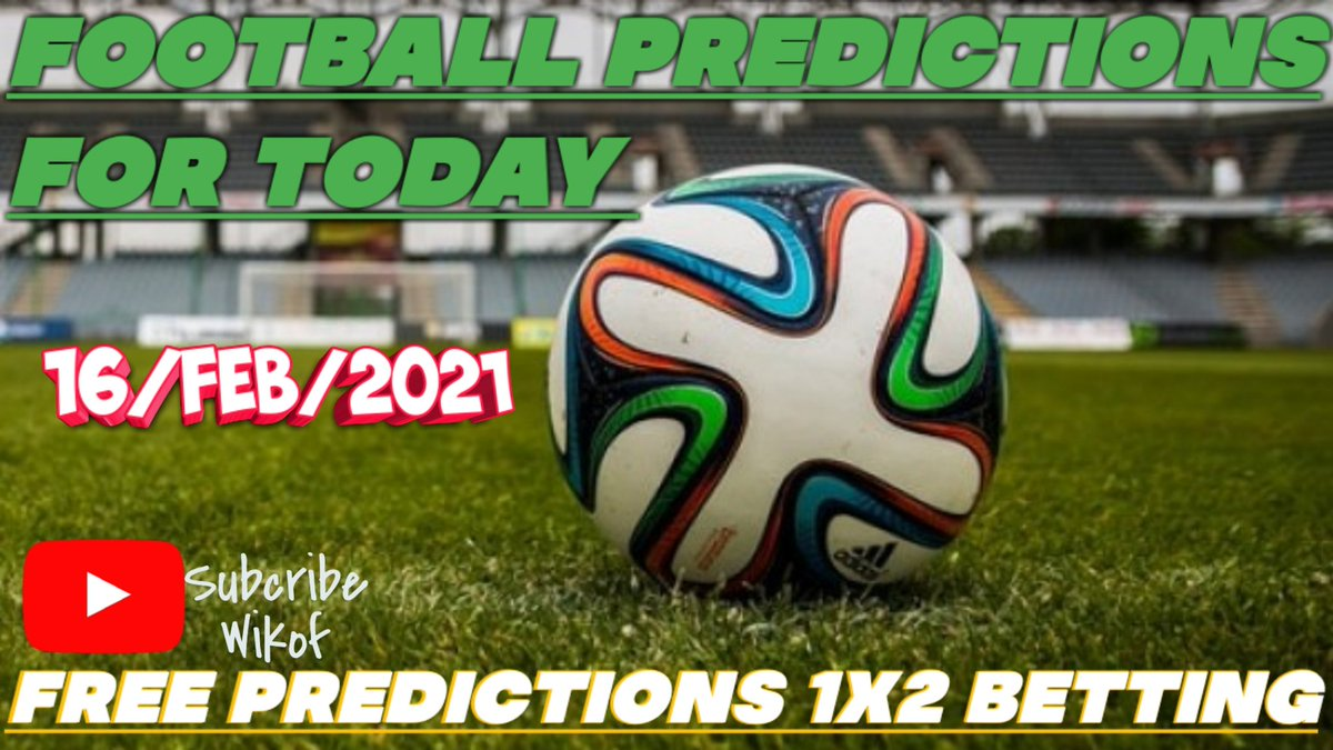 @andresiniesta8 @visselkobe  We have posted today's football predictions matches on YouTube use this link 👆 to get access to the tips.....