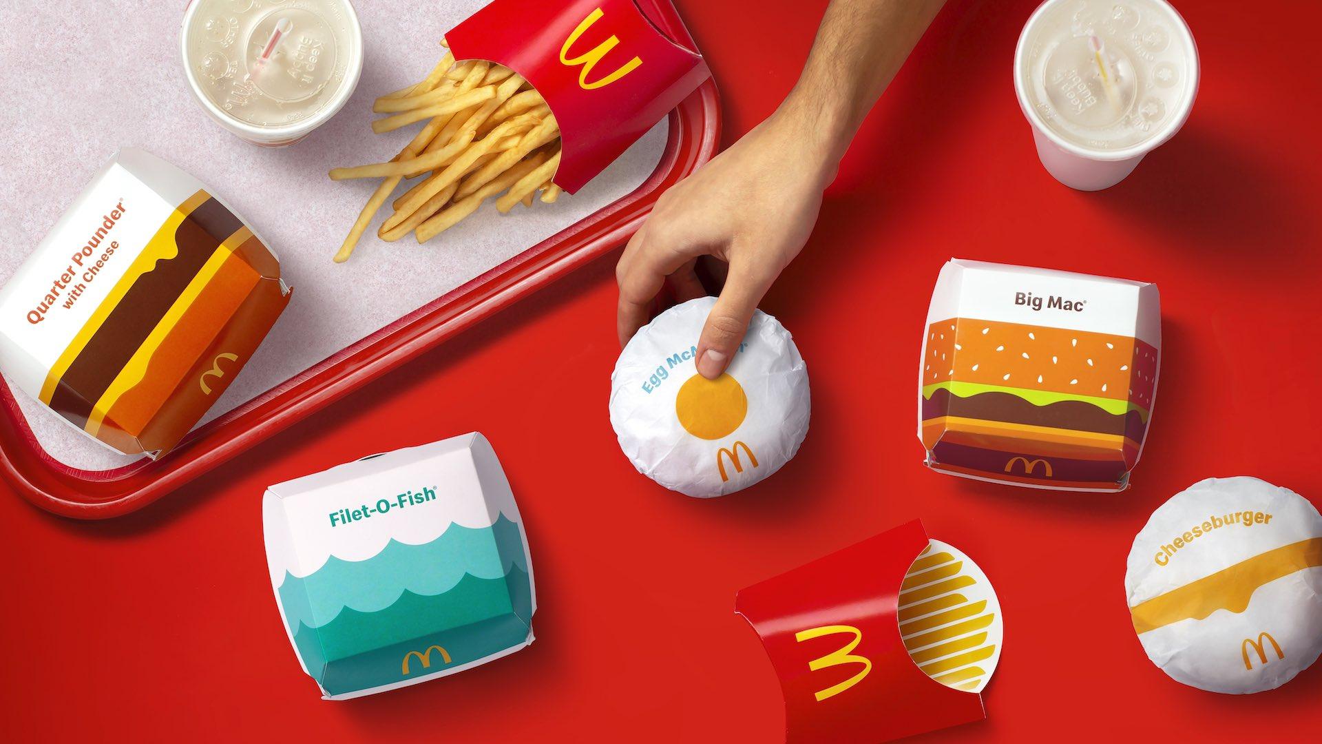 «Макдоналдс» впервые за пять лет сменит дизайн упаковок 4