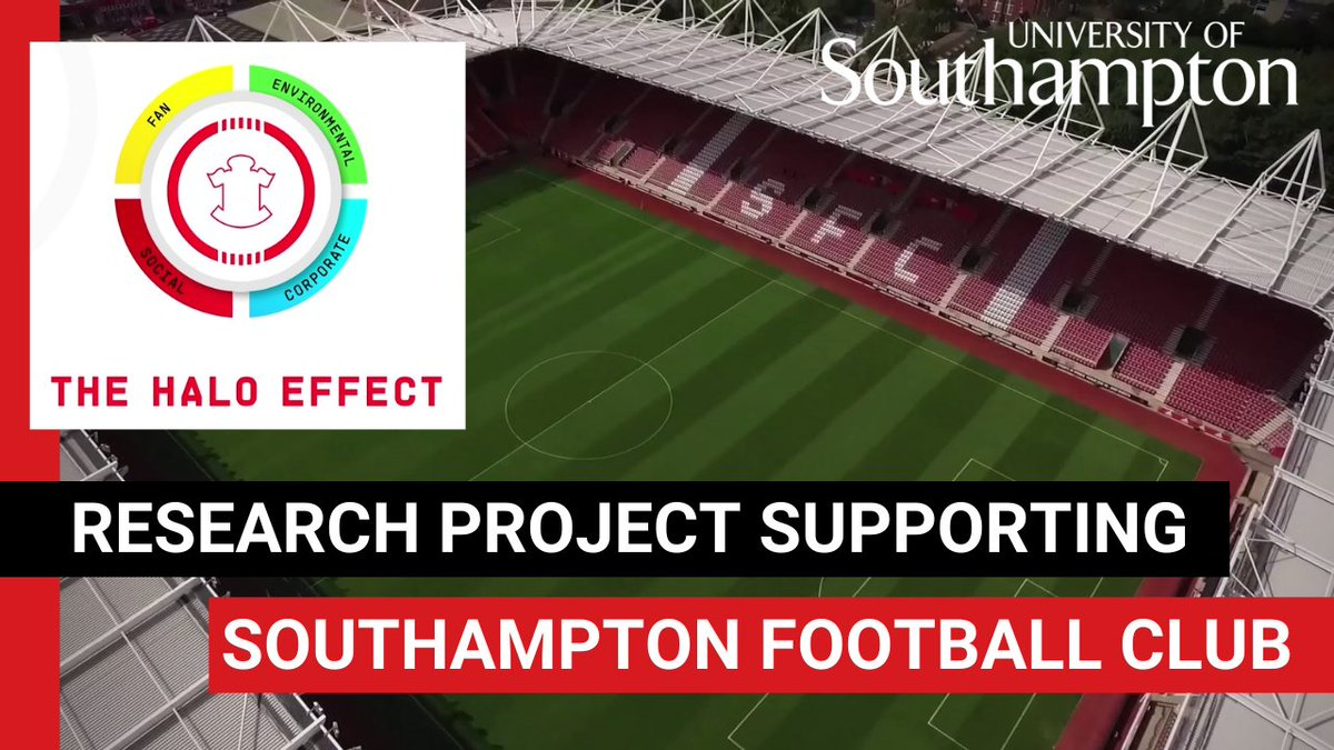 How can you make a football club sustainable? ⚽🌍 Jake Trethewy, a student from the School of Geography & Environmental Science, is working with @SouthamptonFC on their new sustainability strategy. 📰 Read about Jakes research here: fal.cn/3dqWB #SaintsFC 😇