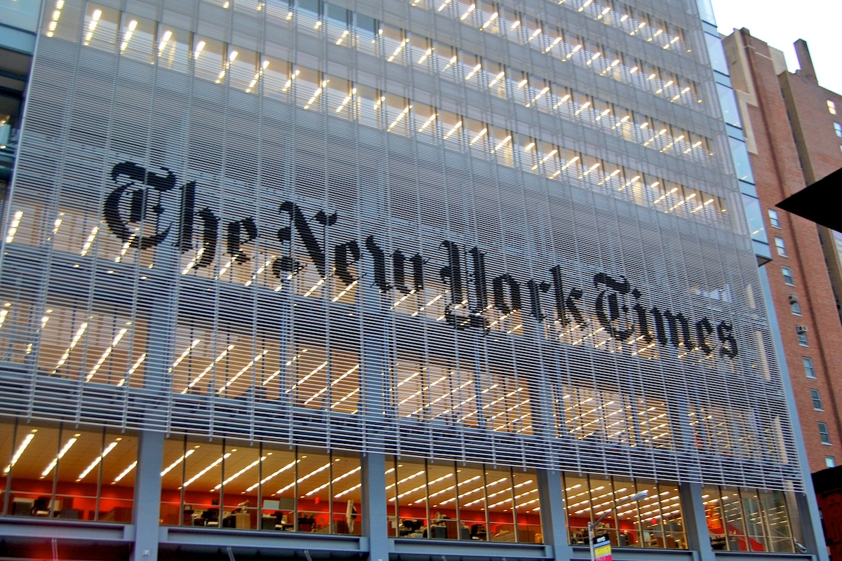 Almost half of New York Times staff believe there is no freedom of knowledge exchange, different opinion or objective handling of differences. #AndyMills #Censorship #FreeSpeech #LaurenWolfe #NewYorkTimes Read More: