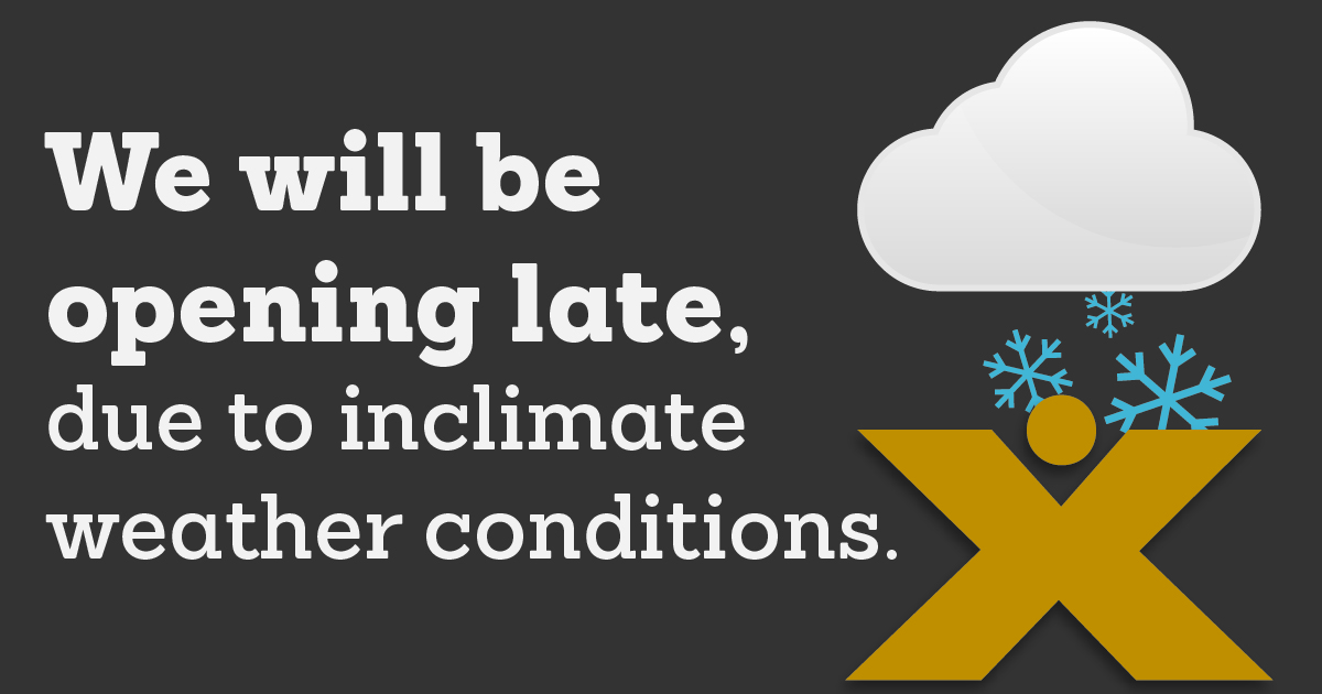 Berkshire Bank will delay opening in Capital Region/Albany Branches today, including Amsterdam and Johnstown NY, to 10:00 AM, to ensure our employees are able to travel to work safely and that you can visit us safely. Thank You.
