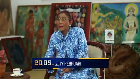 #SusiCekOmbak kali ini Ibu @susipudjiastuti dan @kikysaputrii ngobrol-ngobrol sama Pak Muhammad Lutfi (Menteri Perdagangan RI) dan Pak Abdullah Mansuri (Ketua IKAPPI). Penasaran ngobrolin apa? Tonton selengkapnya hari Rabu (17/2) pukul 20.05 WIB. @susicekombak