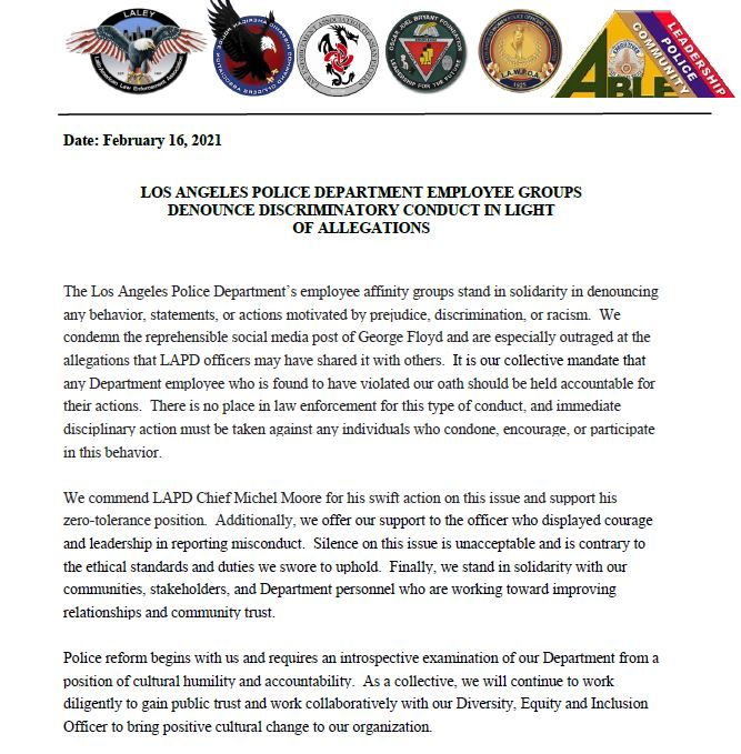 Lapd Hq Lapdhq Twitter Personal History Statement