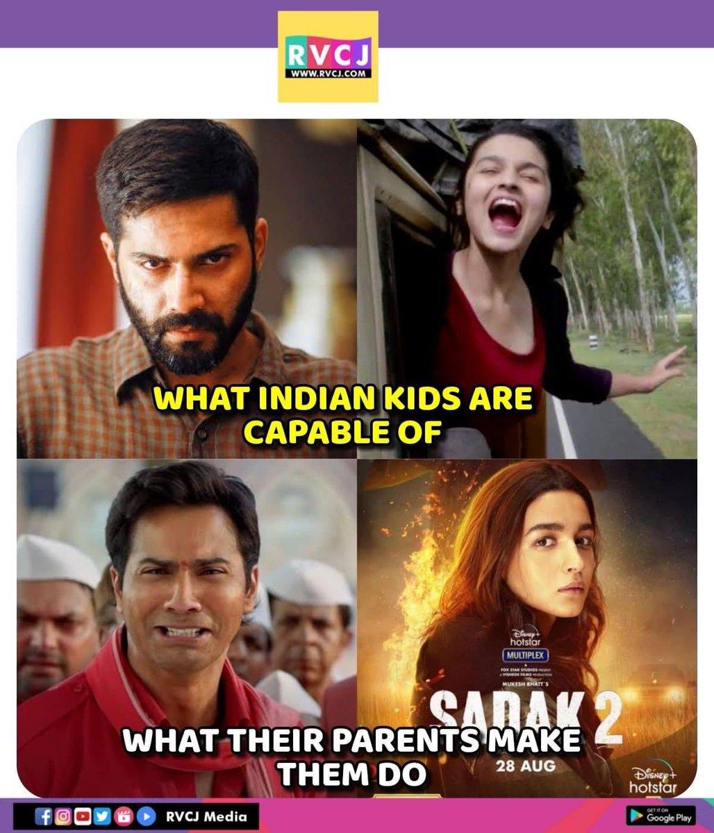 Sums up 😂 #varundhawan #aliabhatt #badlapur #highwaymovie #coolieno1 #sadak2 #bollywood #memes #maheshbhatt #daviddhawan #rvcjmovies
