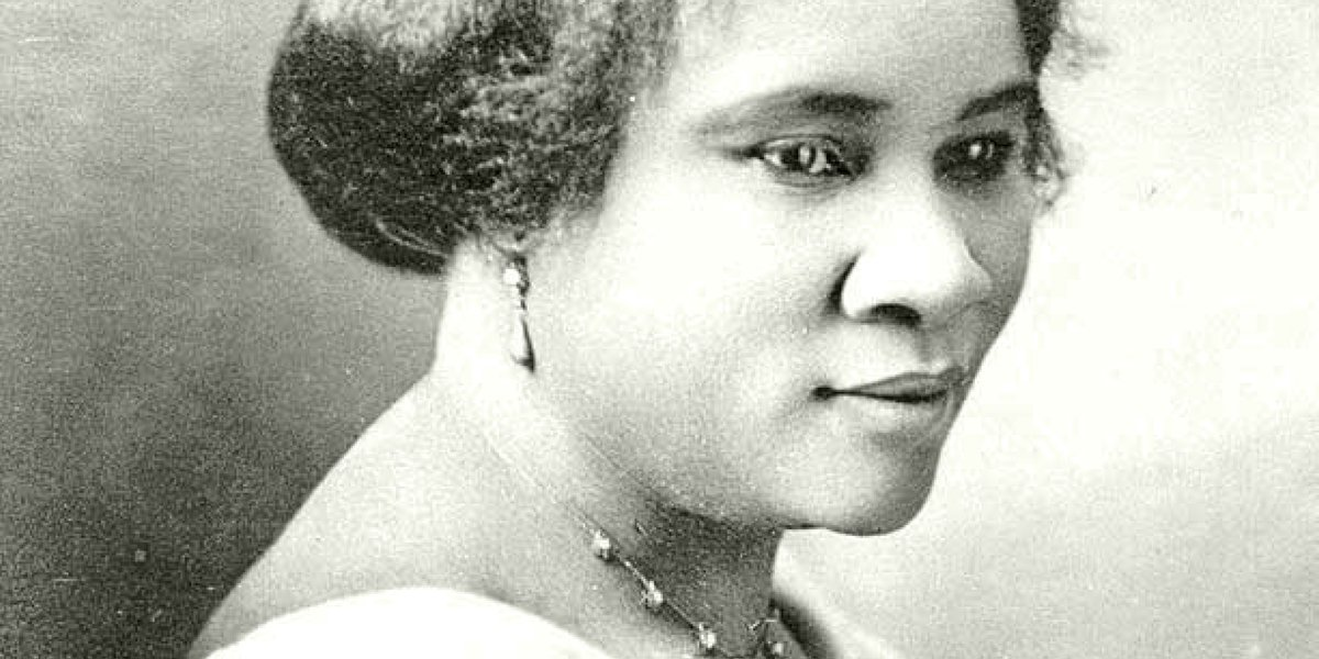 Introducing: Madam C.J. Walker. Through her wildly successful line of hair products for Black women, she became the first recorded female self-made millionaire in U.S. history and a champion of economic opportunity for Black women.  A groundbreaking mogul .•*  #BlackHistoryMonth
