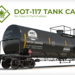 Image for the Tweet beginning: The rise of DOT-117 tank