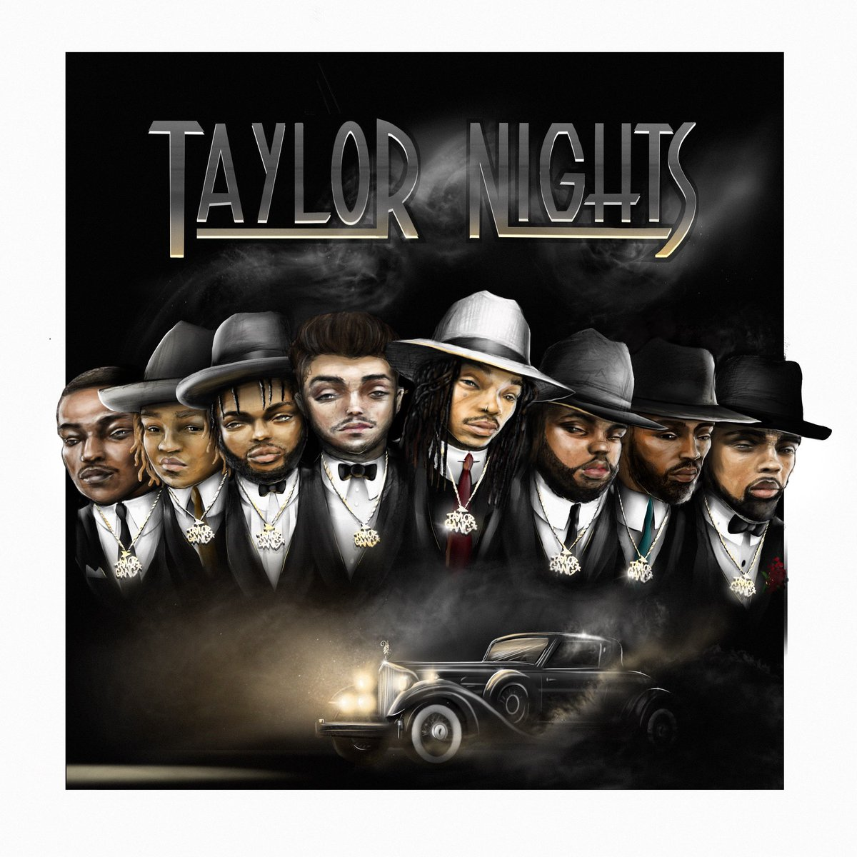 NEW MUSIC THIS FRIDAY!!!  TAYLOR NIGHTS(MIXTAPE) Available on   Roll up in advance. Hosted by Dj Daddykat