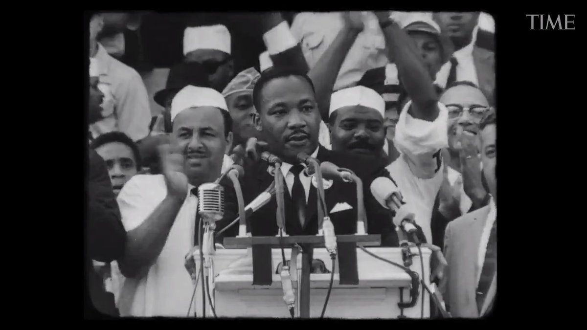 """Watch: TIME reflects on Dr. Martin Luther King's iconic """"I Have A Dream"""" speech for the present moment"""