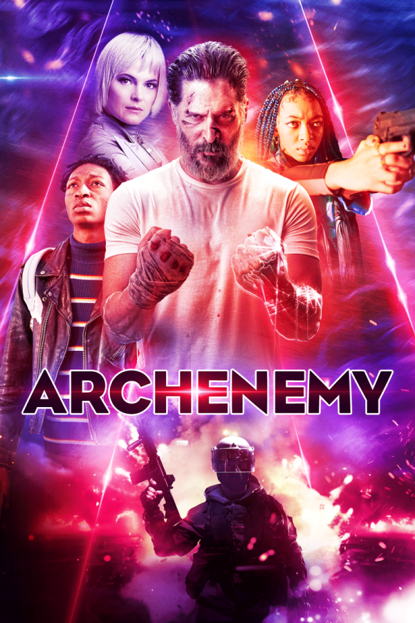Replying to @flickeringmyth: Lauren Miles (@Lauren_M1les) with a ★★★ review of Archenemy...