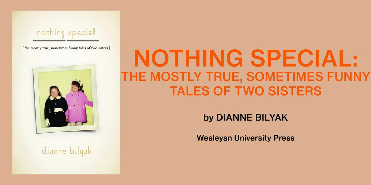 "test Twitter Media - Author/humorist Dianne Bilyak shares her experience working on her first-time memoir, ""Nothing Special."" Read more here:   https://t.co/H8LfYGsOK6  #Siblings #downsyndrome #MoreAlikeThanDifferent #DownSyndromeAwareness #DontLimitMe #HomieWithAnExtraChromie https://t.co/DpqN6JdbOz"