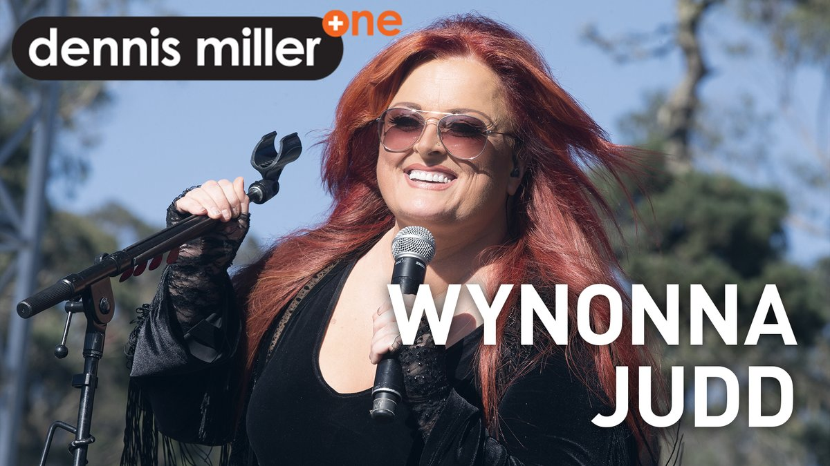"""Sassy and frisky,  Wynonna Judd (@Wynonna) and her husband, Cactus Moser (@cactusmoser), join Dennis Miller for a whole lot of laughs while talking finding music during quarantine, and her latest album, """"Recollections."""""""