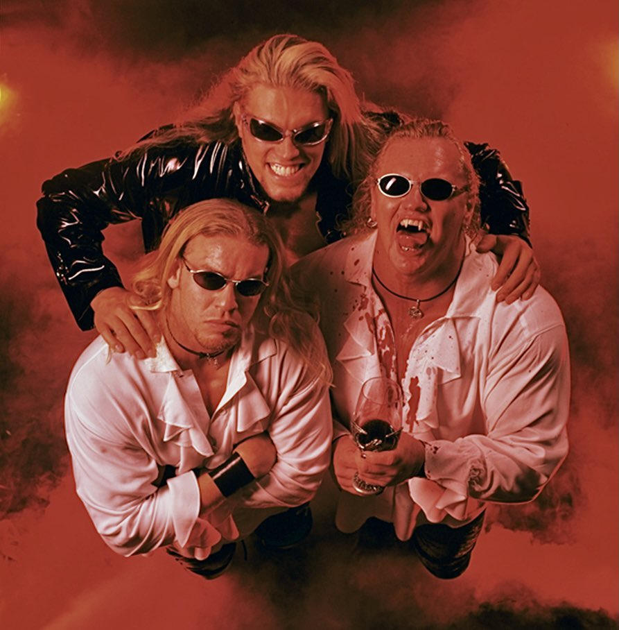 Edge, Christian, and Gangrel together as The Brood on WWE. (Twitter)