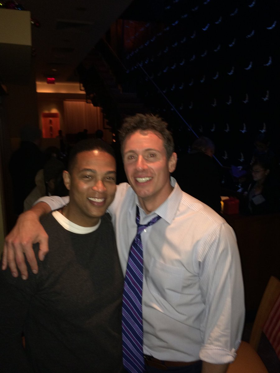 Please tell me you're not that stupid. This is a badly photoshopped photo of me and Chris Cuomo. Interesting the type of person who keeps tweeting it though.