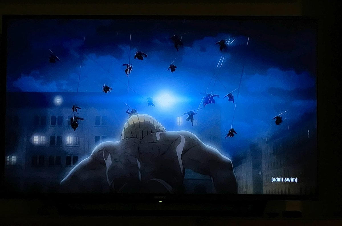 Season 4.6: THIS SCENE ALONE... Poor Galliard. #devilsofparadis  #AttackOnTitan #AOTfinalseason #AOTanime #進撃の巨人