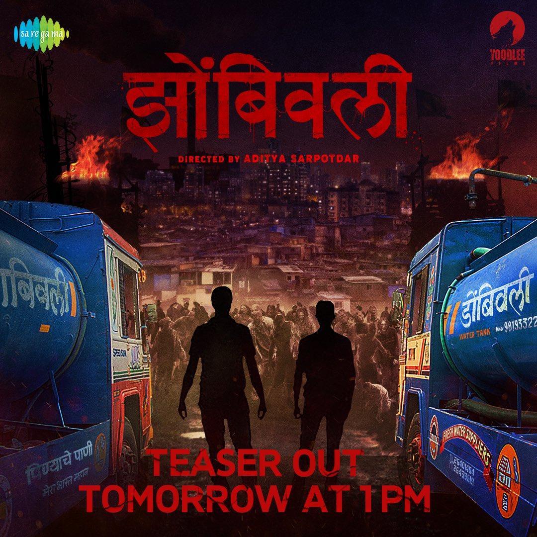 Ali re ali #zombivili ali 😍😍  @AdityaSarpotdar @ameywaghbola @lalit_prabhakar @vaidehiofficial @YoodleeFilms#Zombivli #झोंबिवली #2021