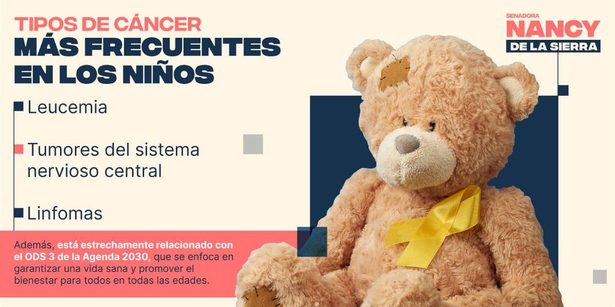 En el marco del #DíaInternacionalDelCáncerInfantil me uno a la lucha de los más pequeños de la sociedad que se enfrentan a esta enfermedad.  Senadora @Nancydelasa #CDMX #Puebla #Huauchinango #Xicotepec #Zacatlán