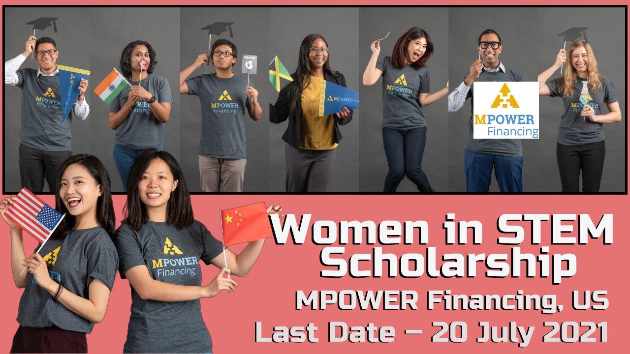 Women in STEM Scholarship by MPOWER Financing, Washington, US