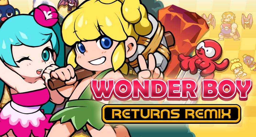 WONDER BOY RETURNS REMIX (S) $7.49 via eShop. 2