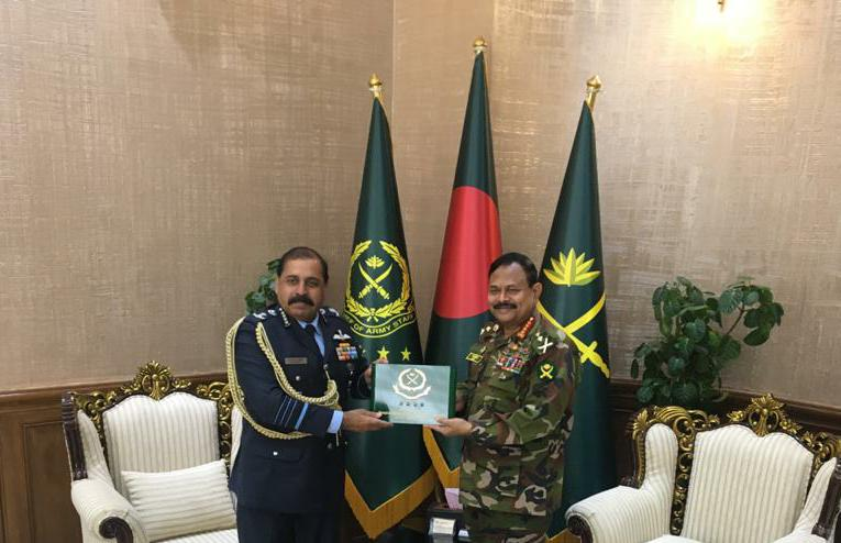 CAS also met with Gen Aziz Ahmed, Chief of Army Staff, Bangladesh. Acknowledging the strong bonds of friendships that armed forces on both sides had forged during and after the 1971 War of Liberation, the Chiefs discussed ways to further enhance matters of bilateral cooperation.