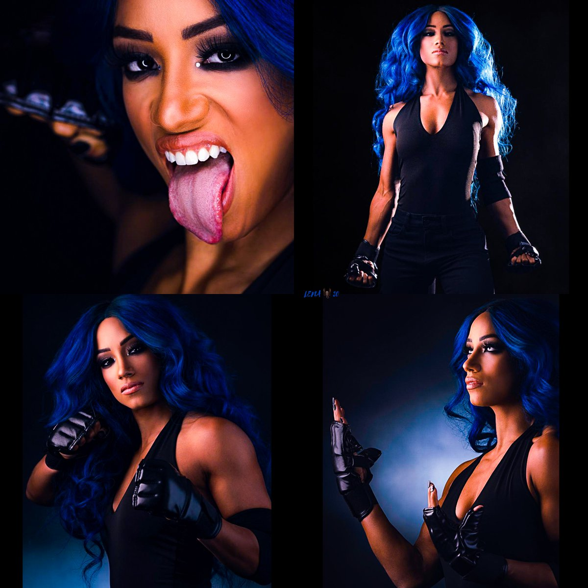 @Bex_RomSha97 @_obLIVionSquad @romshaswill @StevenF42241378 @LegitStylez_ @SashaBanksEra_ @Ambreigns13 @TwistedKing920 @SebasPunk094 @wrestling_ko THIS whole #Undertaker30  photoshoot she did was Killer and Beautifully BADA$$👌🏽💯🔥🔥💁🏽♀️👅🔥🔥💙💙