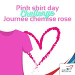 Image for the Tweet beginning: Today is Pink Shirt Day!