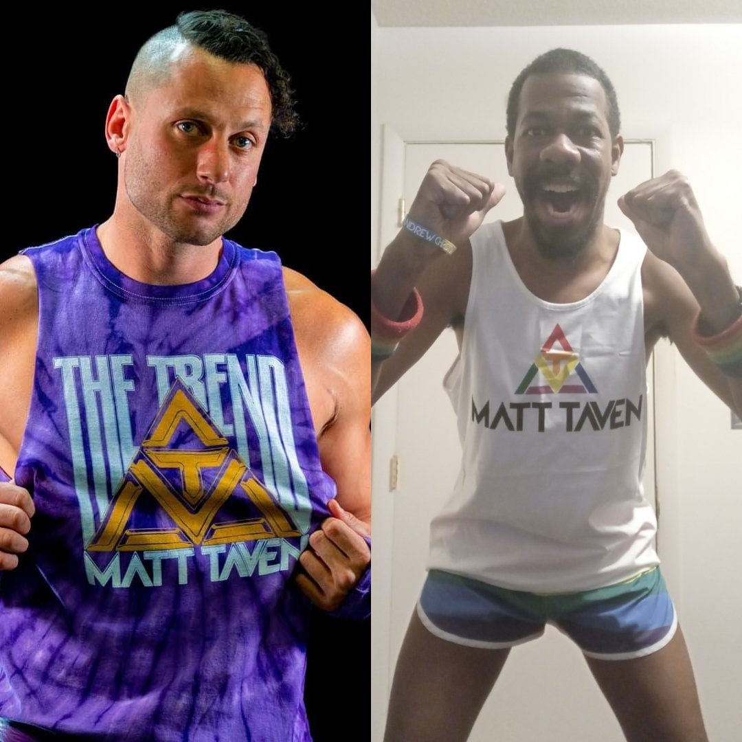I follow THE TREND because I love it. I follow THE TREND because I love him. I follow THE TREND because I feel inspired. I follow THE TREND because I love my friend @MattTaven. I follow THE TREND because the symbol reminds me of that. #FollowTheTrend #TrendingWithTaven 💜💜💜💜💜