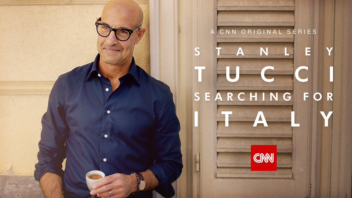 .@CNN picks up critically acclaimed Stanley Tucci #SearchingforItaly for a second season, where Tucci returns to Italy to explore all new regions and cuisines!