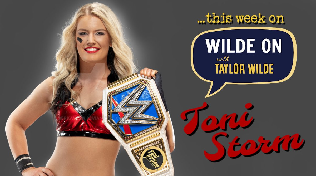 @WWEToniStorm opens up about struggling with school, the UK music festival experience, and finding a home at @WWE, despite the US culture shock. TODAY only on Wilde On: the womens wrestling podcast. @WWE #tonistorm #tonitime #WWENXT@ToniStormCOM #wrestlinglife #prowrestling