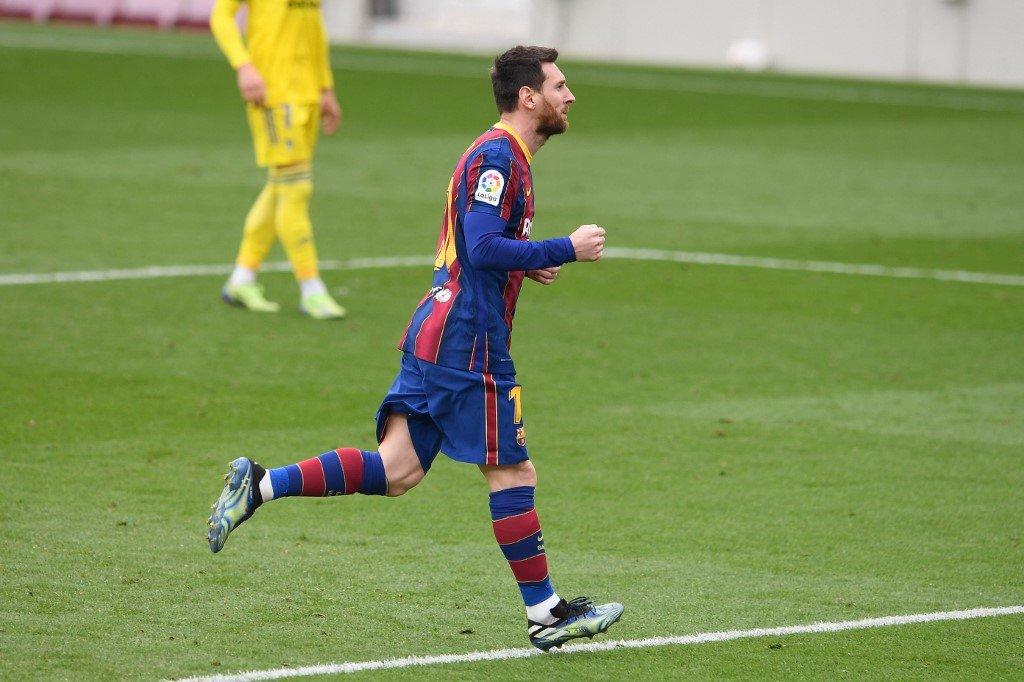 4⃣1⃣ (21/02/2021)  🏟️ - Camp Nou  🏆 - La Liga  🔵 Barcelona 1 x 1 Cádiz 🟡  ⚽️ Lionel Messi 32' (P) ⚽️ Álex Fernández 89' (P) https://t.co/IlQacFzQgc